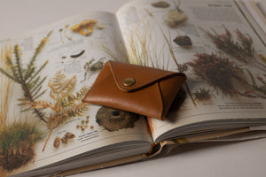Mini wallet - Kamel Leather