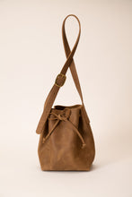 Load image into Gallery viewer, Bucket Bag - Brown Leather