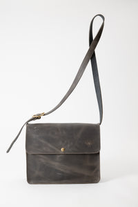 Lennon Bag - Gray Leather