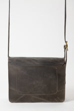 Load image into Gallery viewer, Lennon Bag - Gray Leather