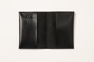 Passport Cover - Shiny Black
