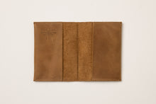 Load image into Gallery viewer, Passport Cover + Card Holder- brown leather