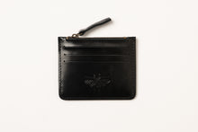 Load image into Gallery viewer, Card Holder- black shiny leather