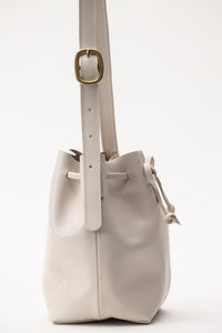 Bucket Bag- stone leather