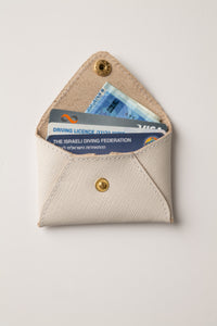 Mini wallet - Stone Leather