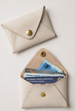 Load image into Gallery viewer, Mini wallet-stone leather