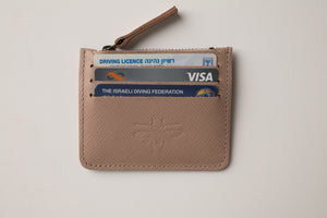 Card Holder - Powder Leather