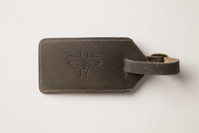Load image into Gallery viewer, Luggage Tag - Gray Leather