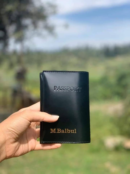 Passport Cover- black