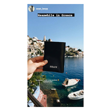 Load image into Gallery viewer, Passport Cover - Shiny Black