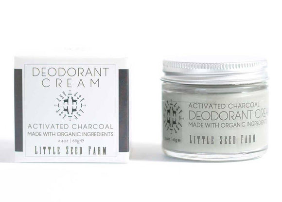 Little Seed Farm - Activated Charcoal Deodorant Cream