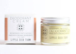 Little Seed Farm - Rosemary Patchouli Deodorant Cream