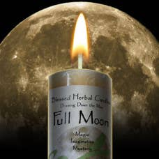 Coventry Creations -Blessed Herbal-Full Moon Candle