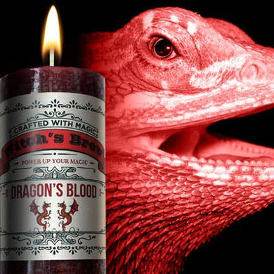 Coventry Creations -Witches' Brew-Dragon's Blood Candle
