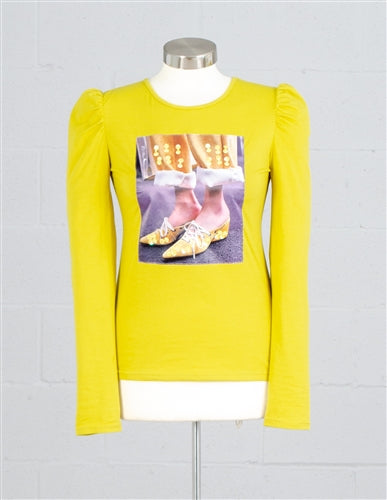 Mustard Patch Long Sleeve Top