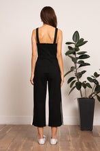 Load image into Gallery viewer, Alexandra Track Jumpsuit- Black