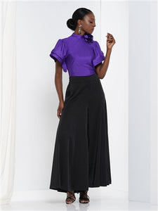 High Waisted Wide Leg Pant