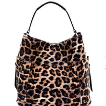 Load image into Gallery viewer, Classy Leopard Print Laser-cut 2 in 1 Hobo Bag