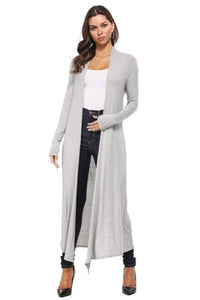 Long Sleeve Knit Duster