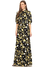 Load image into Gallery viewer, Bow Maxi Dress