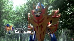 Road to Pokemon Sword and Shield Base: The Legendary Shield, Zamazenta V