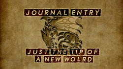 JOURNAL OF A HUNTER: CHAPTER 1: JUST THE TIP OF A NEW WORLD