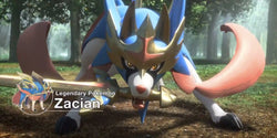 Road to Pokemon Sword and Shield Base: Zacian V