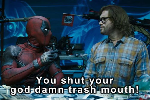 shut up deadpool
