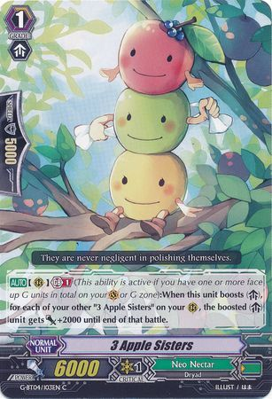 3 Apple Sisters - G-BT04/103EN - C