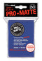 Blue MATTE 50ct Standard Sleeves Ultra-Pro