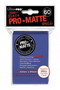Blue MATTE 60ct Small Sleeves Ultra-Pro
