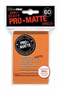 Orange MATTE 60ct Small Sleeves Ultra-Pro