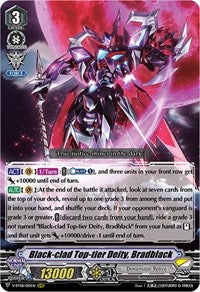 Black-clad Top-tier Deity, Bradblack - V-BT08/012EN - RRR