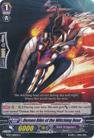 Demon Bike of the Witching Hour - BT07/083EN - C