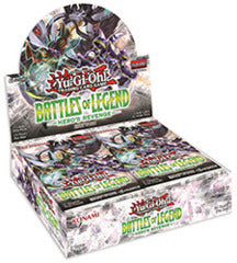 Yu-Gi-Oh! - Battle of Legend: Hero's Revenge Booster Box