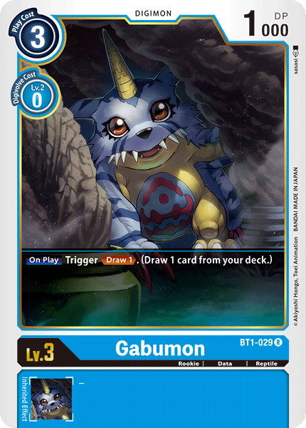 Gabumon - BT1-029 - R