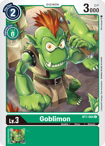 Goblimon - BT1-064 - C
