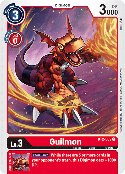 Guilmon - BT2-009 - C