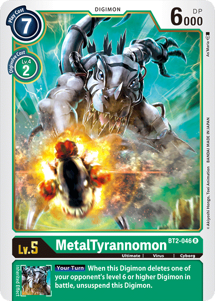 MetalTyrannomon - BT2-046 - R