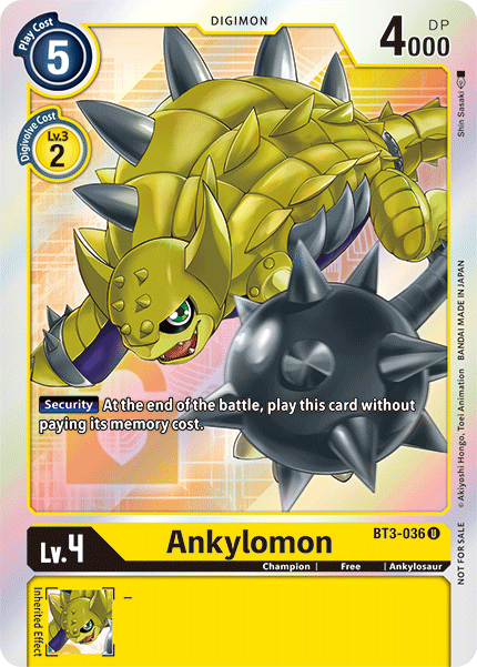 Akylomon - BT3-036 - U (Alternative Art)