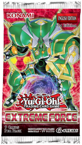 Yu-Gi-Oh! Extreme Force (1st Edition) Booster Packs