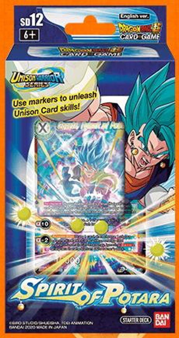 Dragon Ball Super TCG - Spirit of Potara Starter Deck