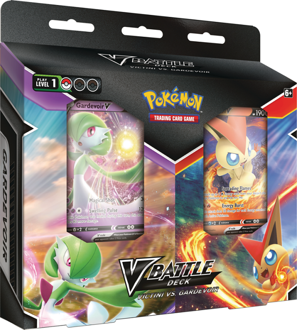 Pokemon - V Battle Deck - Victini VS Gardevoir (2-Players)