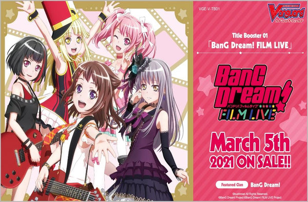 Cardfight Vanguard!! - Bang Dream! Film Live Booster Box [Releases March 5]