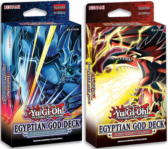 Yu-Gi-Oh! - Egyptian God Deck - Obelisk/Slifer Version [Releases June 11th 2021]