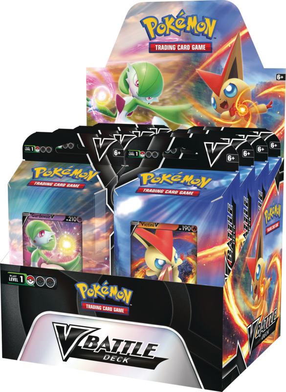 Pokemon - V Battle Decks - Victini/Gardevoir