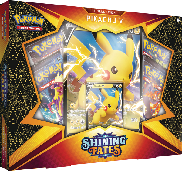 Pokemon - Shining Fates Pikachu V Box [Releases February 19]