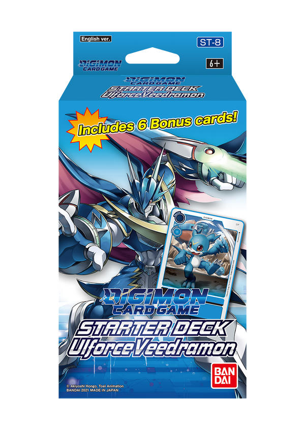 Digimon TCG Starter Deck - Ulforce Veedramon [Releases 8th October 2021] Limit of 1 per customer