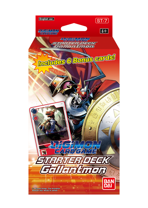 Digimon TCG Starter Deck - Gallantmon [Releases 8th October 2021] Limit of 1 per customer