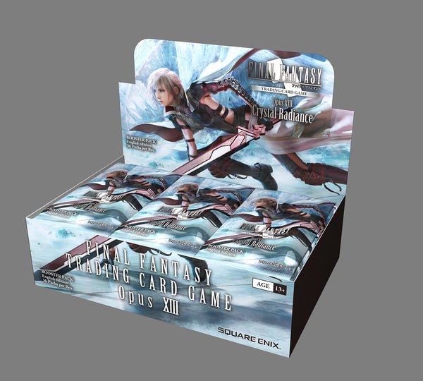 Final Fantasy TCG: OPUS XIII Crystal Radiance Booster Box [Releases March 26th 2021]